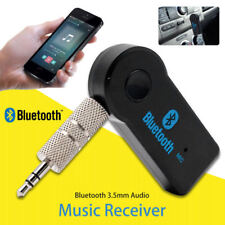 AUTO Bluetooth Audio Music Receiver Adapter KFZ AUX Kabel klinke USB Empfänger