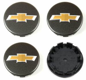 4pcs Black Wheel Cap for 2013 2014 2015 Chevrolet Spark / Spark EV