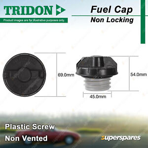 Tridon Non Locking Fuel Cap for Suzuki Grand Vitara JT SQ Ignis Jimny Kizashi