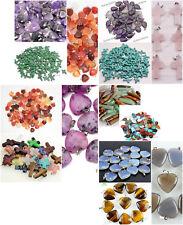 Wholesale Lots 140pcs 14 sytles Gemstone stone Mixed Beads Pendants