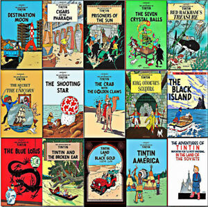 COMPLETE COLLECTION OF THE CLASSIC 24 TINTIN BOOKS ON DVD