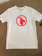 Mens Nike Jordan Goat Greatest Logo Tshirt White Red Size L, Nwt Bv7454 100