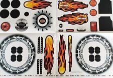 Power Wheels Harley Davidson Décalque Étiquette Feuille 3900-3912