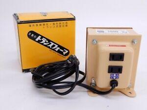 NISSYO NDF-1500U Voltage Down Transformer Converter 120V 100V 1500W Made in JPN