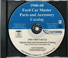 1960-68 Ford Car Master Parts and Accessories Catalog (CD-ROM)