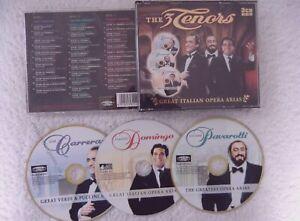 18579 The Three Tenors - Great Itallian Opera Arias [3 CD's] CD (2003)