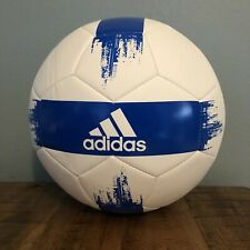 Adidas Soccer Ball Size 5 White/Blue Brand New DY2512