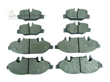 MERCEDES VITO 04-11 FRONT & REAR BRAKE PADS FOR BOSCH CALIPER ONLY (CHECK)