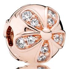 PANDORA ROSE Charm Clip Element 781493 CZ Blüten Bead