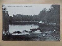 Vintage Postcard Posted 1944 Wimbledon Common The Queens Mere Children London