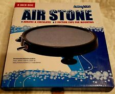 Active Aqua Round Air Stone 8 Inch Hydroponic Parts Accessories Seed Yard