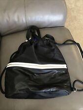 Joy Lab Black Drawstring Bag/Backpack