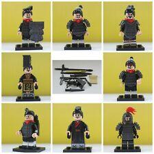 Samurai Ninja Warriors Soldiers Army Video Game Toys Model 8 Action Mini Figures