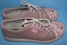 Klogs Myra Womens Clogs Sneakers Shoes Leather Taupe Dragonfly Butterfly 7 M
