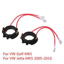 1 par H7 LED Linterna Kit Adaptador Socket titular clips para VW Jetta MK5 Golf