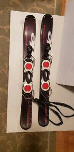 Salomon SnowBlade FreeGlide BUZZ90 Trick Skis with Bindings 90 CM