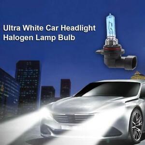 1pc 9012 55W 6500K 12V Xenon White Car Headlight High/Low Beam Halogen Lamp Bulb