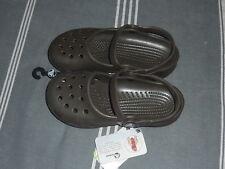 ♥ -60%♥ Sabots chaussures enfant CROCS mary jane P 33 / 34 M2 W4 NEUF marron