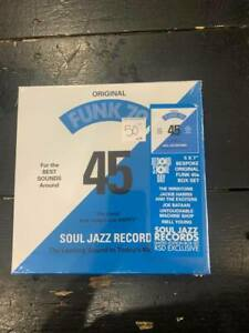"V/A Funk 70 RSD 2021 7/17 5 x 7"" single VINYL Box Set SOUL JAZZ RECORDS 45s NEW"