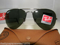 New Authentic Ray Ban Polarized Sunglasses RB 3025 004/58 RB3025 Made In Italy