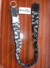 Oakley stretch ceinture réversible camo noir autre côté Bnwt