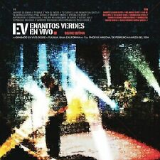 Enanitos Verdes en vivo CAJA DE CARTO CD+DVD New Sealed