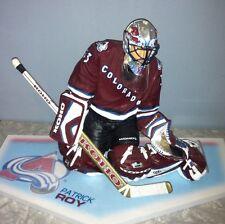 "McFarlane NHL Legends PATRICK ROY Avalanche 12"" 3rd Jersey Figure Statue *LOOSE*"
