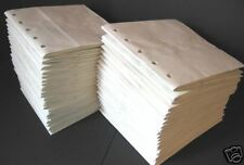 50bk 6X6 SEWN  WHITE paper bag scrapbook album/piecing