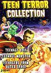 Teen Terror Collection (DVD, 2006, 3-Disc Set) ROGER CORMAN 50S HORROR
