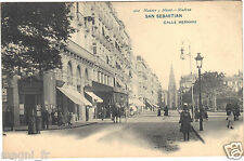 Espagne - cpa - SAN SEBASTIAN - Calle Hernani
