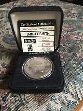 1 Troy Oz. 999 Fine Silver-1993 Emmitt Smith Coin