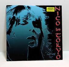 NICO Nico In Tokyo VINYL LP Sealed 2003 Cherry Red Velvet Underground Lou Reed
