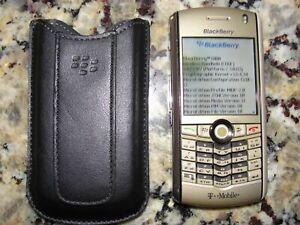 Blackberry Pearl 8100 Gold