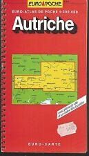 AUTRICHE.Euro-Atlas de poche. 1:300.000. Euro-Carte  Z18