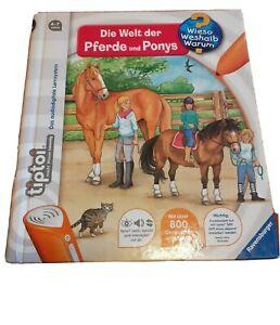 Ravensburger tiptoi buch Pferde und Ponys Topzustand