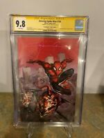 Amazing Spider-man #798 CGC SS 9.8 Virgin Cover Signed by Clayton Crain