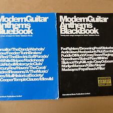 Chansons moder guitare hymnes LIVRE BLEU + Livre Noir