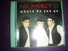 Where Do You Go (5 Versions) No Mercy (CD, 2001,BMG/Ariola/Arista)