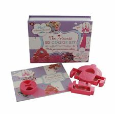 The Princess 3D Cookie Cutters Kit by Parragon Recipe Book Paperback 2014
