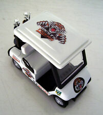 DIECAST GOLF CART BUGGY- Wests Clubs,Driver,Iron,Putter,Bag, Ball,Trolley