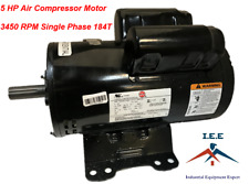 23378805 IR Replacement 5 HP Air Compressor Electric Motor 3450 RPM 24.9 AMP