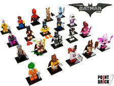 LEGO 71017 MINIFIGURES Serie The Batman Movie collezione COMPLETA 20 minifigure