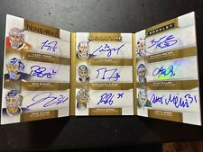 Price Holtby Allen Fleury Rinne 15-16 The Cup Nine Way Signature Booklet Auto /9