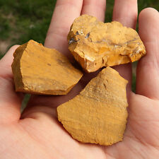 Yellow Jasper (1) Crystal Natural raw rough healing Solar Plexus chakra stones