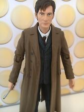 "10TH DOCTOR WHO THE SHAKESPEARE CODE DIRTY TRAINERS SHOES SNEAKERS 5"" FIGURE"