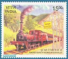 INDIA 2000 Doon Valley Railway Train Railroad Transport stamp 1v MNH