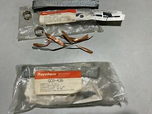 """One Raychem GCA-436 Cable Shield Grounding Clamp 1.1"""" to 2.25"""", NOS"""