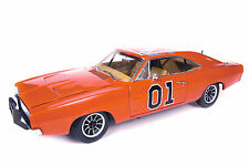 Autoworld 1:18  AMM964 1969 Dodge Charger General LEE-Dukes of Hazzard NEU & OVP