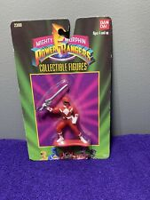 MIGHTY MORPHIN POWER RANGERS RED RANGER COLLECTIBLE ACTION FIGURE BANDAI MMPR