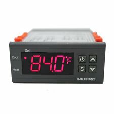 Inkbird Dual Stage 12VDC Digital Temperature Controller Fahrenheit Thermostat